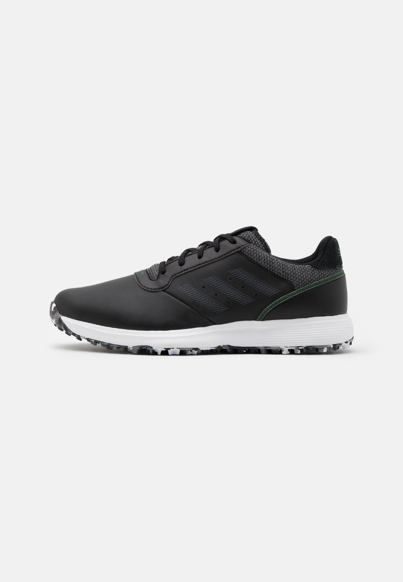 adidas Golf - S2G  - Golf shoes - core black/grey five/grey