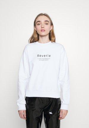 REVERIE  - Sweatshirt - white