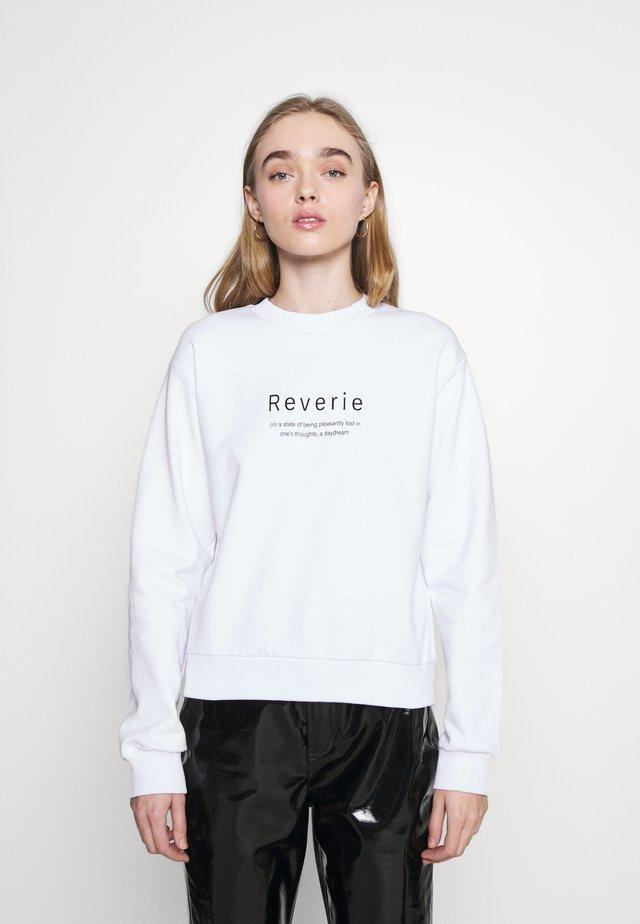 REVERIE  - Mikina - white