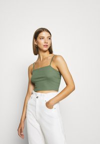 Even&Odd - 2 PACK - Top - green/black - 1