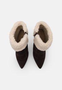 Even&Odd - LEATHER - Bottes de neige - brown - 5