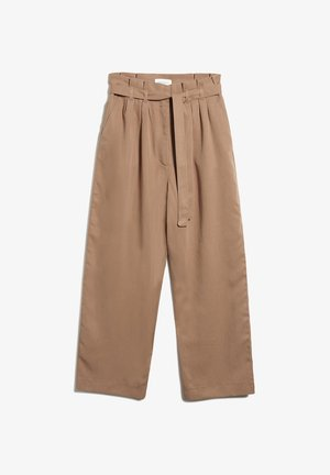 TIMEAA - Trousers - dark caramel