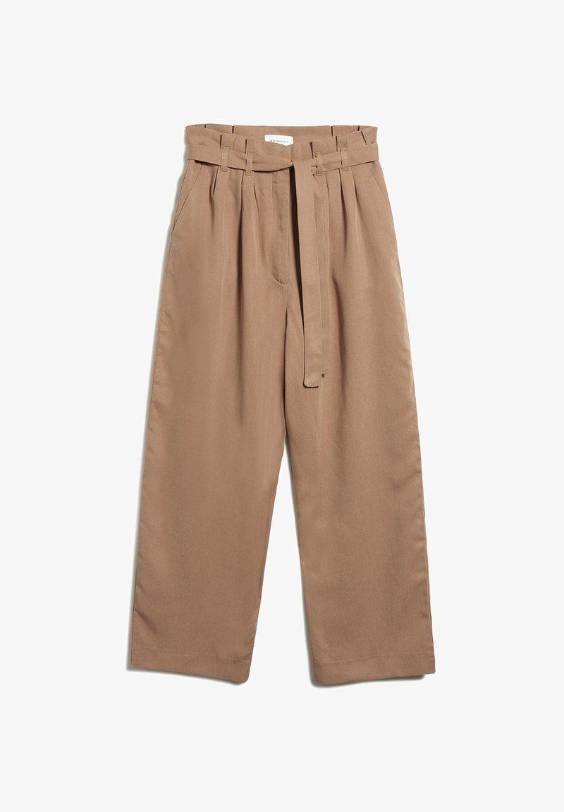 ARMEDANGELS - TIMEAA - Trousers - dark caramel
