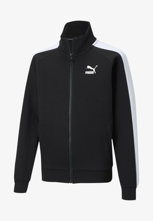 Trainingsjacke - puma black-puma white