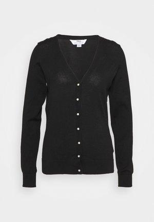 FINE GUAGE  - Cardigan - black