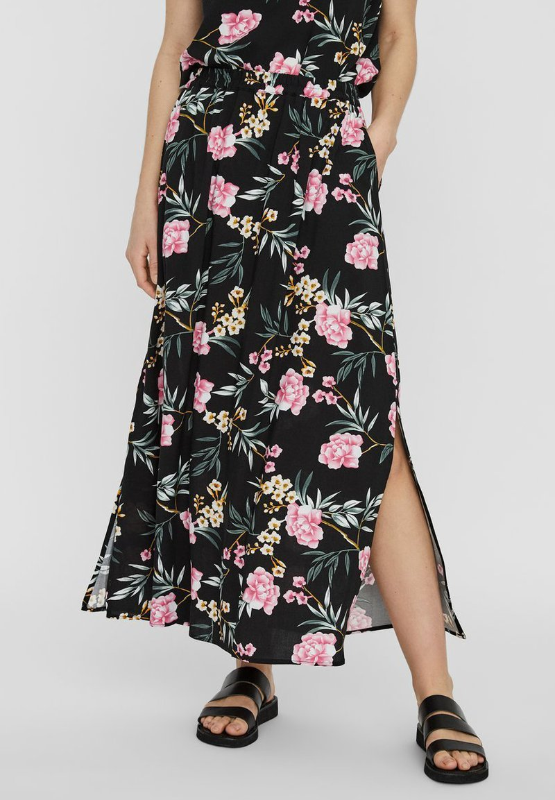 Vero Moda - Maxi skirt - black