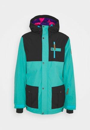 YEH MAN JACKET  - Ski jacket - green/black