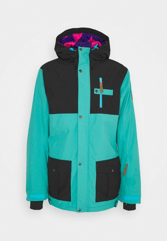 YEH MAN JACKET  - Ski jas - green/black