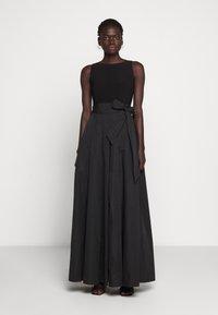 Lauren Ralph Lauren - MEMORY LONG GOWN COMBO - Occasion wear - black - 0