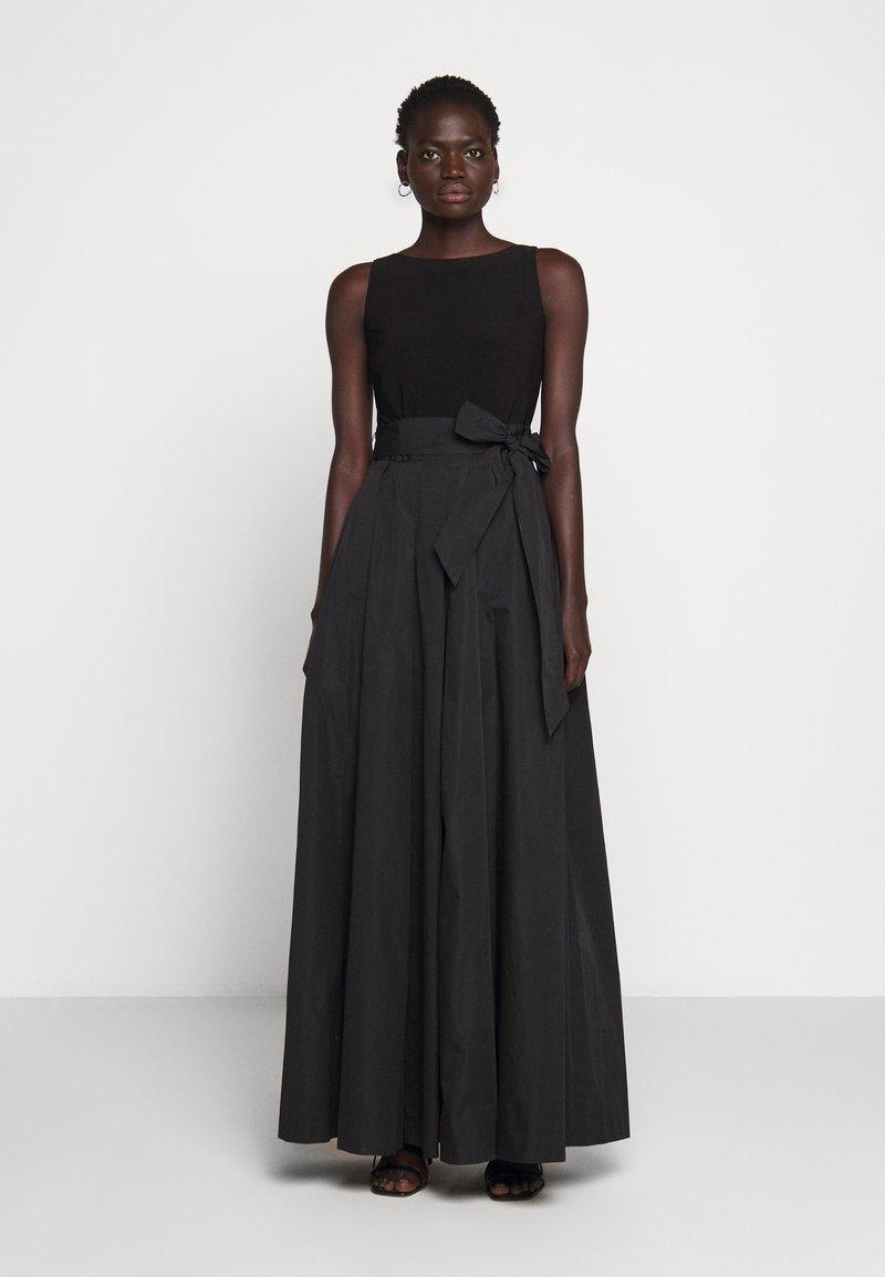 Lauren Ralph Lauren - MEMORY LONG GOWN COMBO - Occasion wear - black
