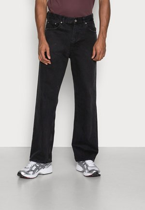 OMAR - Relaxed fit jeans - worn black