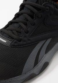 Reebok - HIIT TR - Sports shoes - black/true grey/pewter - 5