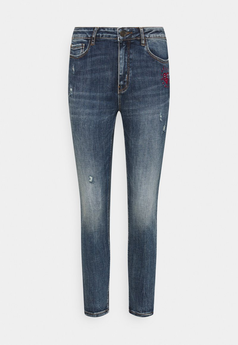 Desigual - ALBA - Jeans Skinny Fit - blue