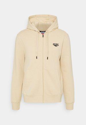ALVAH BASIC ZIP HOODIE - Zip-up sweatshirt - pebble