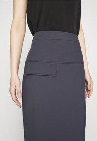 HUGO - RASUSA - Pencil skirt - dark blue - 4
