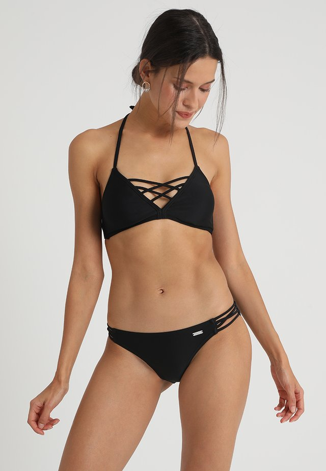TRIANGLE SET - Bikini - black