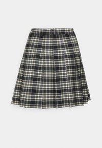 Forever New Petite - TANIA CHECK KILT - Mini skirt - green/black - 1