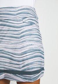 adidas Golf - ULTIMATE SPORTS GOLF SKIRT - Sportovní sukně - glory grey/pink tint - 3