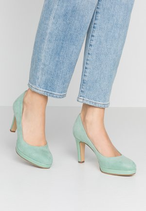 WOMS COURT SHOE - High heels - mint