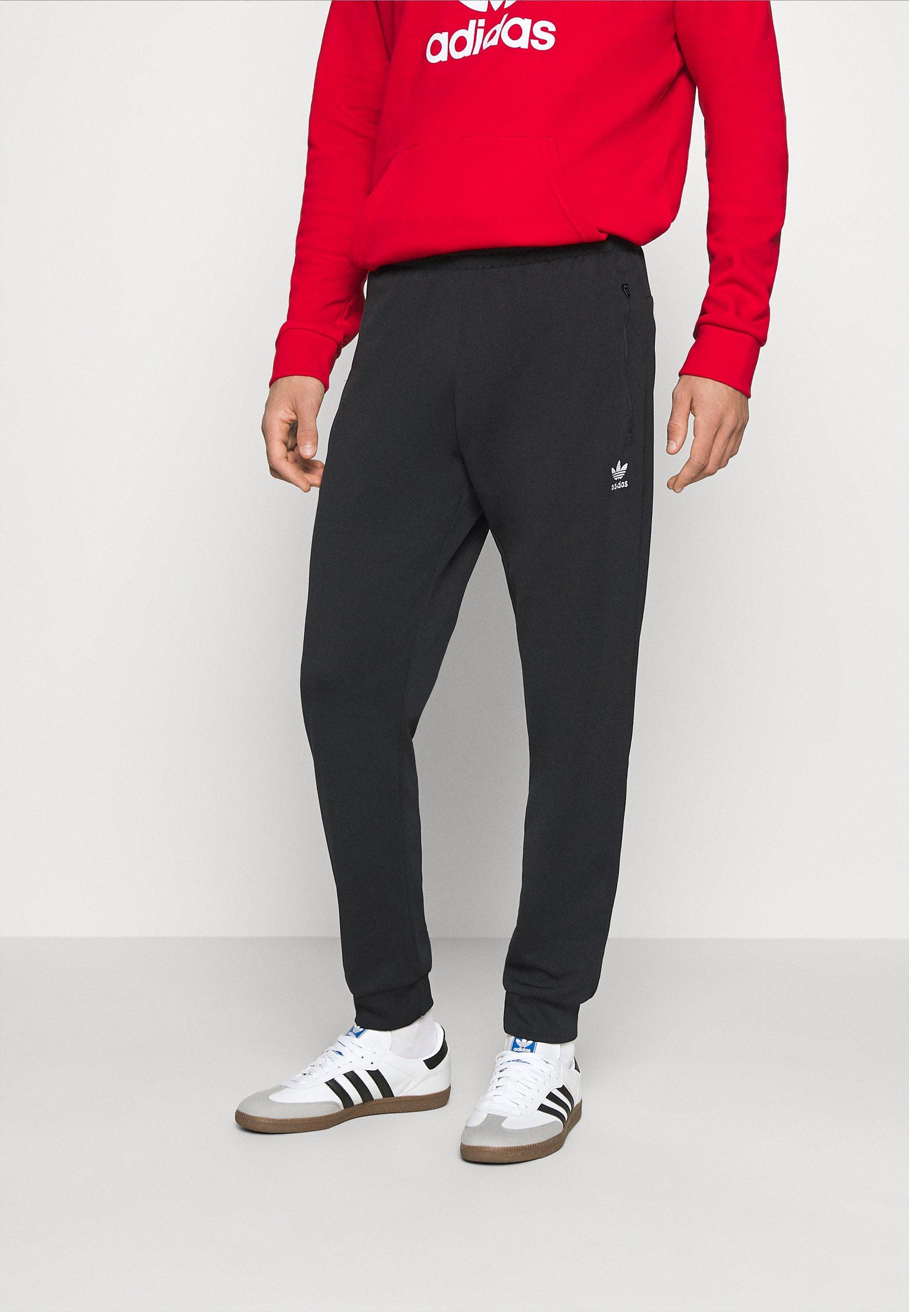 For Sale Men's Clothing adidas Originals ESSENTIAL Tracksuit bottoms black fLBQJsEpb