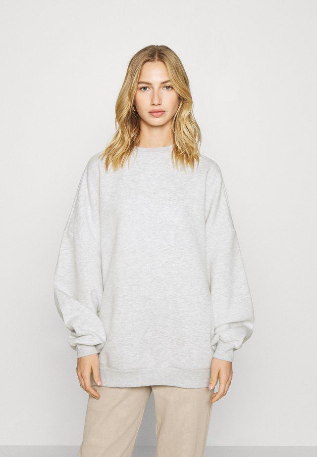 PERFECT OVERSIZE - Collegepaita - grey mélange