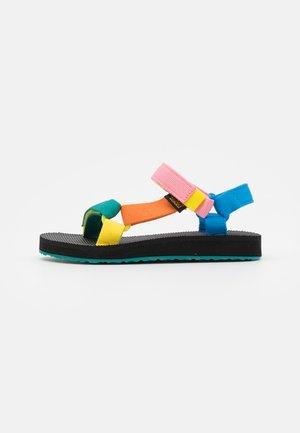 ORIGINAL UNIVERSAL UNISEX - Walking sandals - multi-coloured