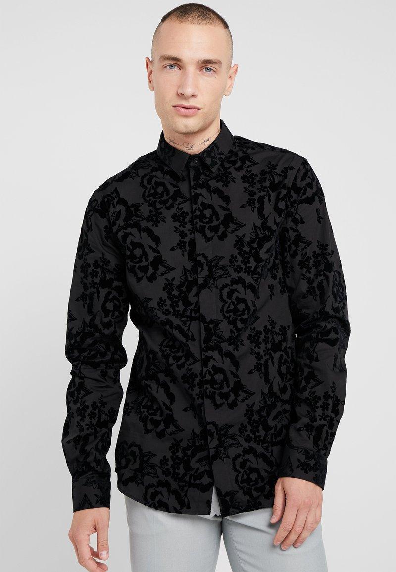Twisted Tailor - VICTORY - Skjorta - black
