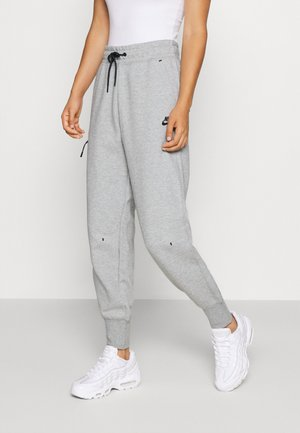 PANT  - Tracksuit bottoms - grey heather/black