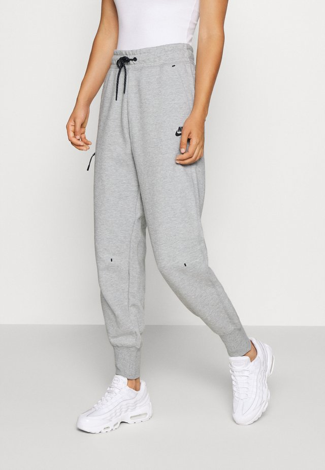 PANT  - Trainingsbroek - grey heather/black