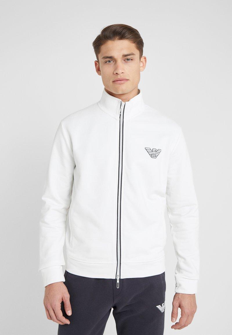 Emporio Armani - Bluza rozpinana - white