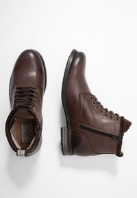 Sneaky Steve - PEAKER - Lace-up ankle boots - brown - 1