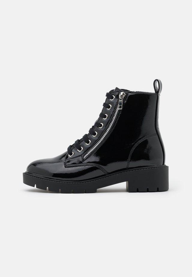 ELITE - Botines con cordones - black