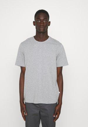 ALLAN 2 PACK  - T-shirt - bas - grey melange