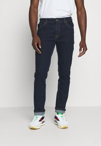Urban Threads - WIDE FIT HEAN - Relaxed fit jeans - blue denim - 0