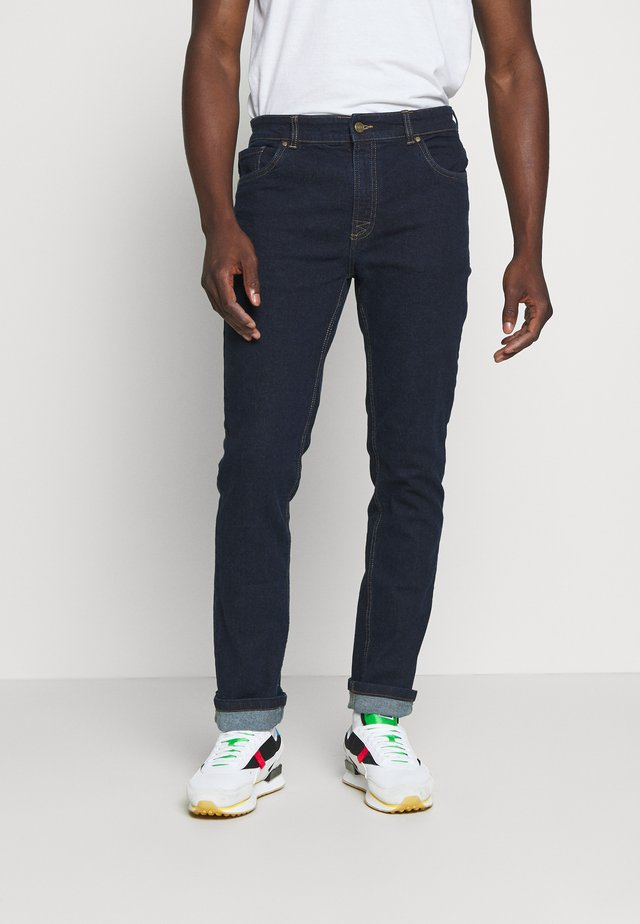 WIDE FIT HEAN - Relaxed fit jeans - blue denim