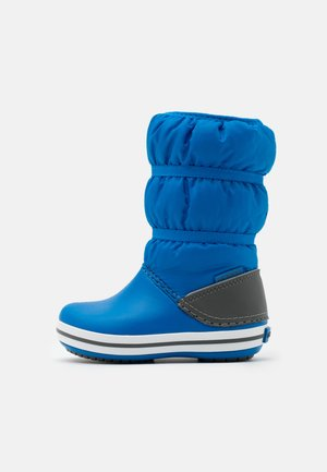 CROCBAND WINTER UNISEX - Snowboots  - bright cobalt/light grey
