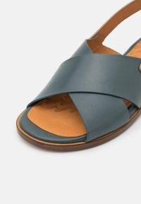 Chie Mihara - Sandals - freya petrol/dali iron - 6