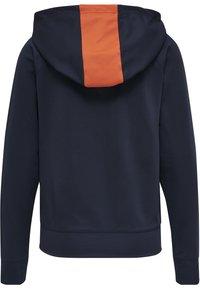 Hummel - Zip-up hoodie - dark sapphire/fiesta - 1