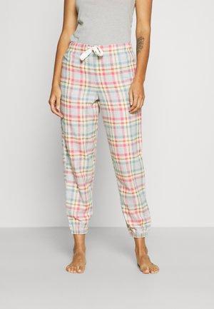 DEAL CHECK CUFF - Pantaloni del pigiama - pink mix