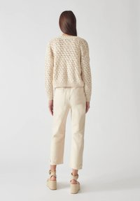 PULL&BEAR - Relaxed fit jeans - beige - 2