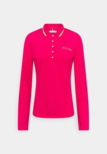 Polo shirt - bright jewel
