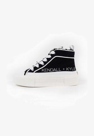 TENS - Sneakers hoog - white/black/white