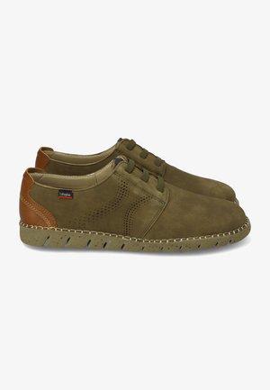 VIZ - Zapatos con cordones - kaki