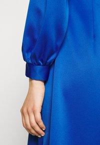 Closet - HIGH COLLAR A-LINE DRESS - Cocktail dress / Party dress - cobalt - 6