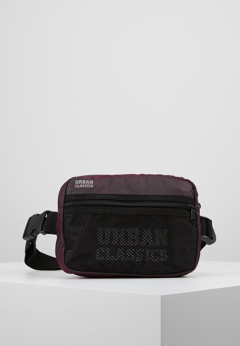 Urban Classics - CHEST BAG - Bum bag - redwine