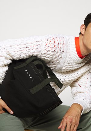 Handbag - black/thyme