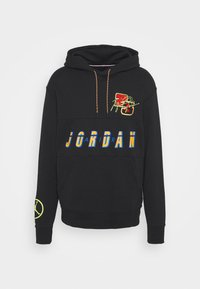 Jordan - HOODIE - Sweatshirt - black/cyber - 4