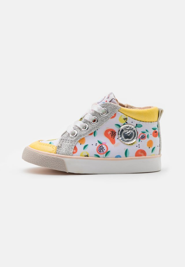 ZIP BASKET - Baby shoes - sun/silver/multicolor