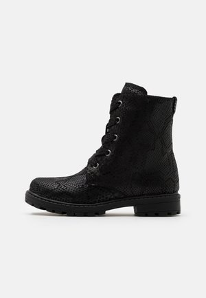 FISHHOOK - Lace-up ankle boots - black