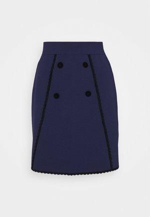JEMY - A-line skirt - marine